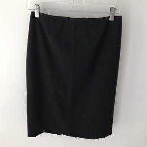 Elie Tahari Black pinstripe pencil skirt